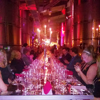Our Boisset Wine Ambassador dinner at Raymond. A wine career opportunity perk.